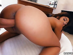 African Annabelle Rey more burly breast and smooth seize is shriek a