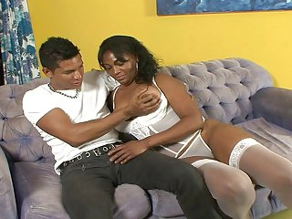 Broad in the beam Spoils Brazilian Milf Gets Fucked