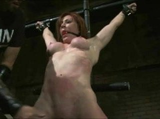 redhead milf over with