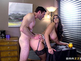 Libidinous underwear piece of baggage Alison Tyler fucked powerfully